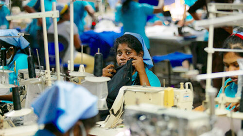 Covid epidemic in factories free trade zones